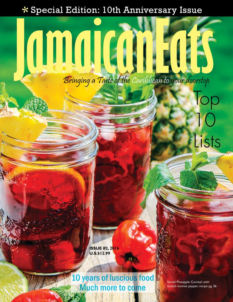 cover Jamaican Eats magazine 10th anniversary