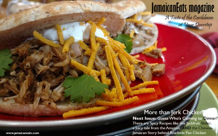Jamaicaneats magazine jackfruit slider photo by michelle nunes forumfinder Choice Image