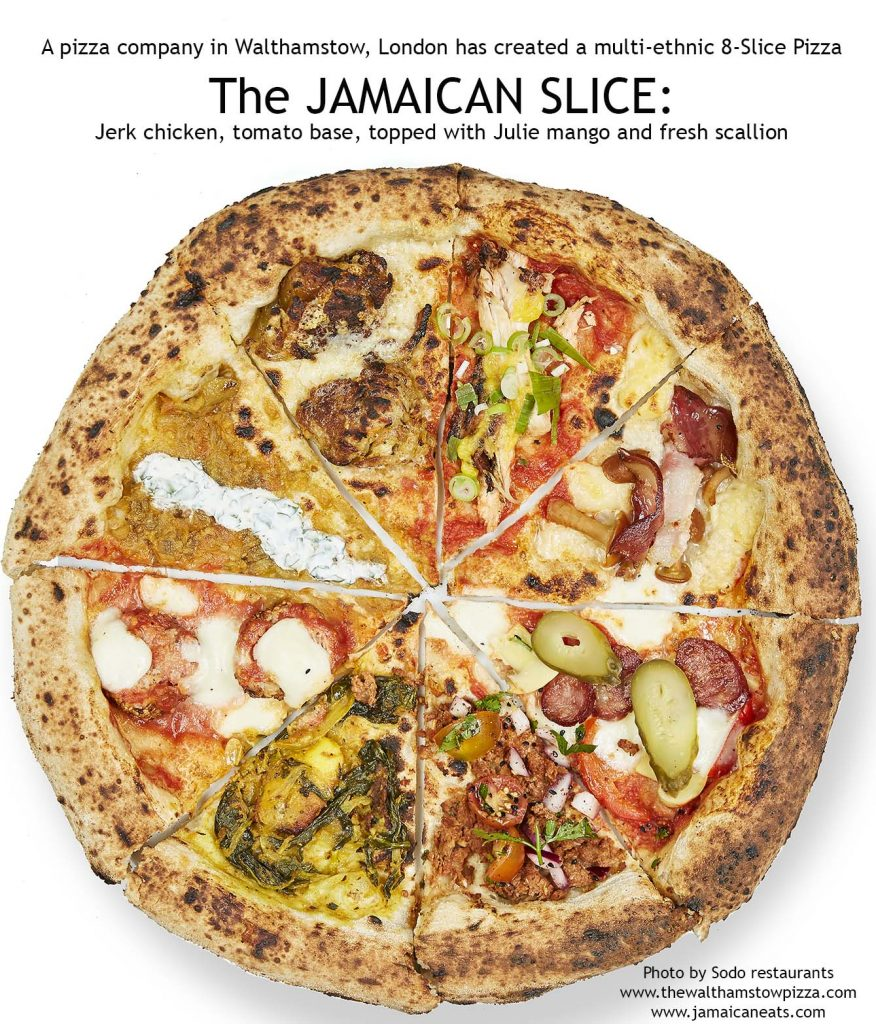 Jamaican Pizza Jerk Chicken Jamaican Eats Sodo Walthamstow London