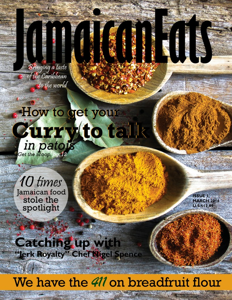 cover JamaicanEats magazine March 2016 2